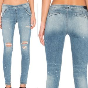 RTA Sonia Pull On Road to Awe size 29 Skinny Jeans